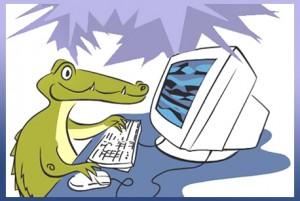 Krokodillen, vriendjes, digitaal prentenboek, online gratis voorlezen, Gemma Stekelenburg, illustrator