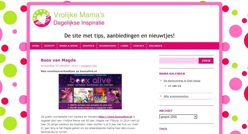 vrolijke mama's, online prentenboeken, voorlees verhaaltjes