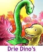 digitale kinderroman, voorleessite, digiboek, dino's, thuis, peuters, kleuters