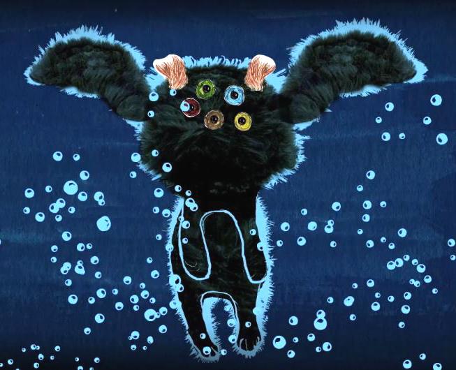 vreemd beest, animatiefilm, Cristina Garcia Martin