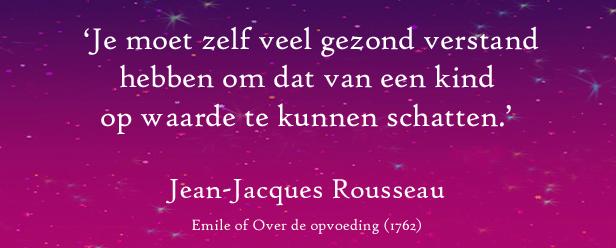 Jean-Jacques Rousseau, leesbevordering, miniverhaaltjes, voorlezen online gratis
