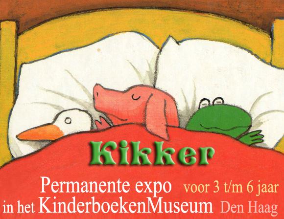kikker, max velthuijs, kinderboekenmuseum, expositie voor kleuters
