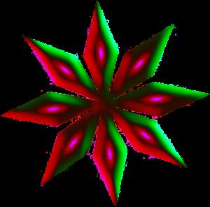 ster groen-rood