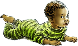 negerbaby, babyfilmpjes