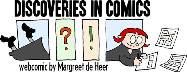 Margreet de Heer, discoveries in comics, webcomic