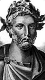 Plautus, Romeins komedieschrijver, Curculio, Korenwurm, klassiek stripverhaal, antieke strip, Latijnse tekst met vertaling
