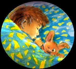 verhaal voor het slapen gaan, slapende peuter, dekbed, voorleesverhalen sprookjes