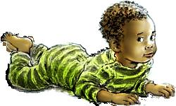 negerbaby, babyfilmpjes, filmpjes voor kinderen
