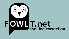 FOWLT, spellingscontrole Engels