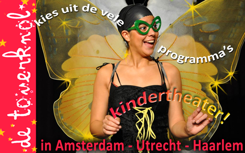 kindertheater de toverknol, jeugdtheater, toneelvoorstellingen voor kleuters en peuters, jeugdtoneel amsterdam - haarlem - utrecht
