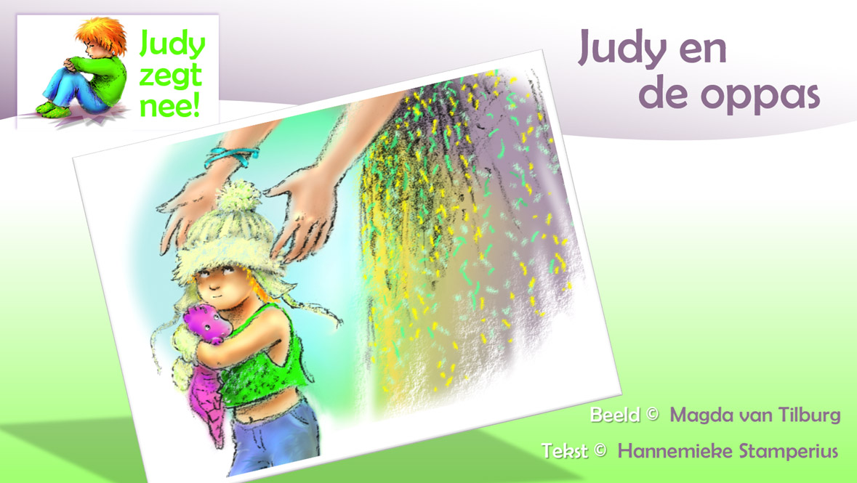 Judy zegt NEE, peuterserie, voorleesverhaal voor 2+, Hannemieke Stamperius, oppas, babysitter, eigenwijs, knuffel
