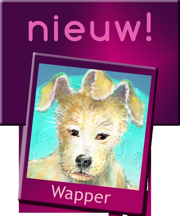 wapper, hondje met drie oren, mini verhaaltje voor peuters, kleuters, kinderverhaaltjes, gratis voorlezen, boekje online met prentjes, voor het slapen gaan