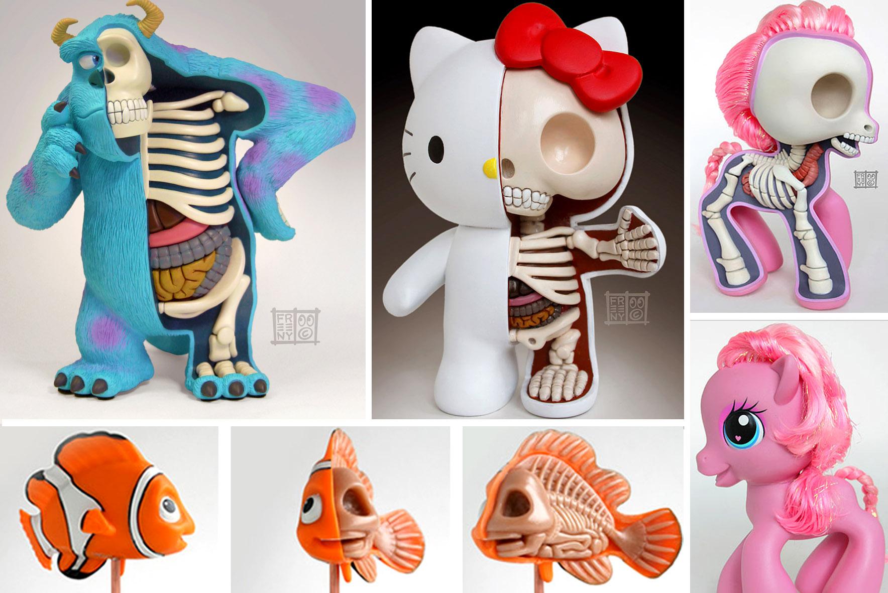 anatomie voor kleuters, jason freeny, ana en tomie, ontleedkunde lichaam
