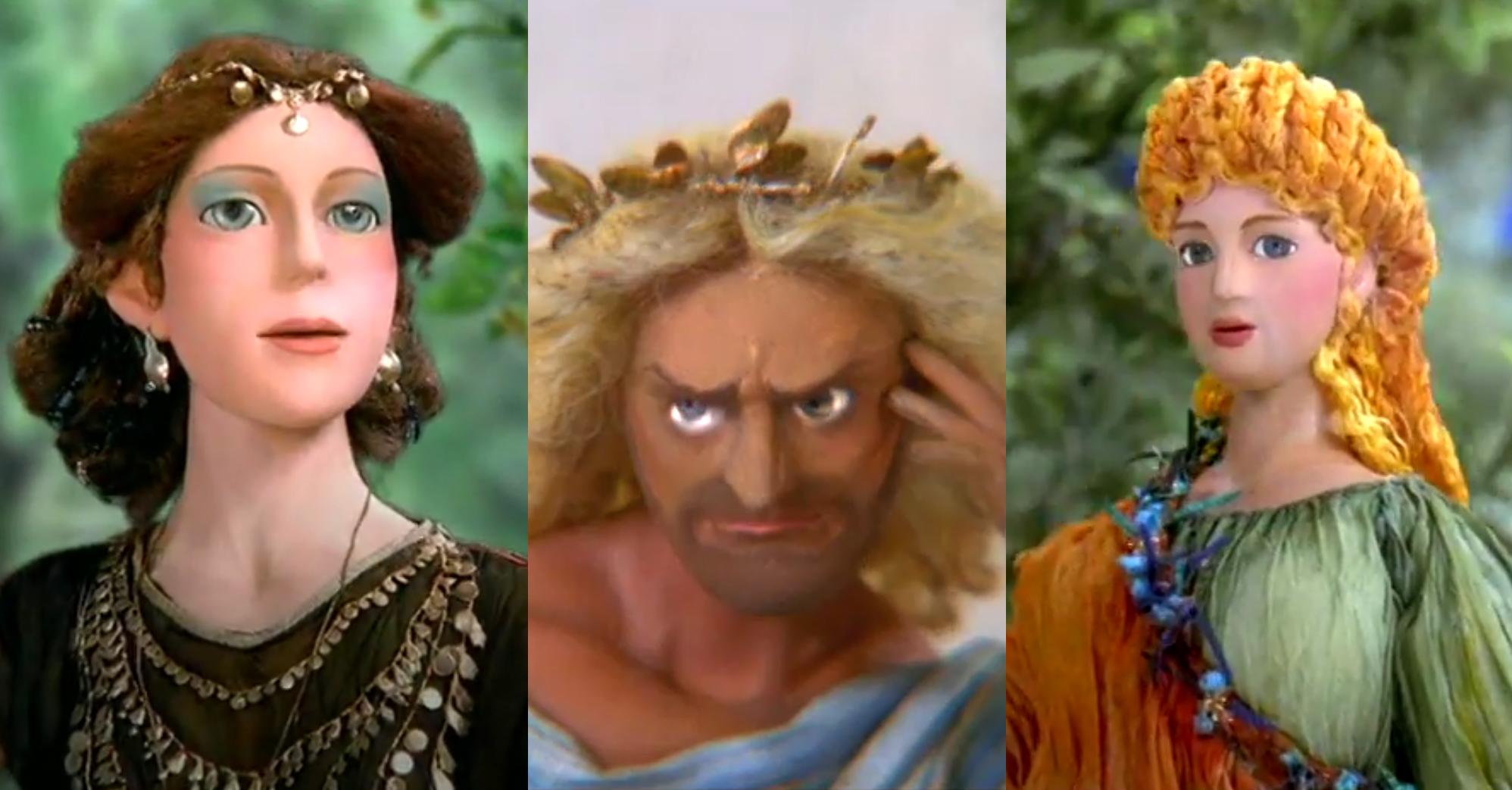Sergei Olifirenko, Russische regisseur animaties, Persephone, mythologie animatie, poppenfilm voor kinderen, Hades, Demeter, Griekse mythe