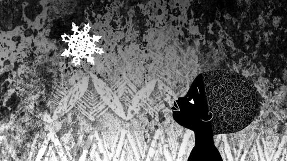 sneeuwvlokje, sneeuw in afrika, russische animator, Natalia Chernysheva, animatie zonder woorden,