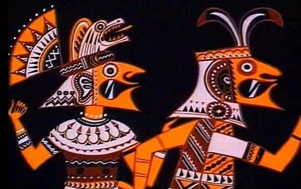 Vladimir Pekar, sprookje indianen uit Peru, mytholgy Peruvian indians, tekenfilm voor kinderen