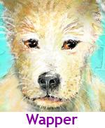 peuterverhaaltjes, online prentenboekjes, voorlezen online gratis, hondje Wapper, hondje met drie oren