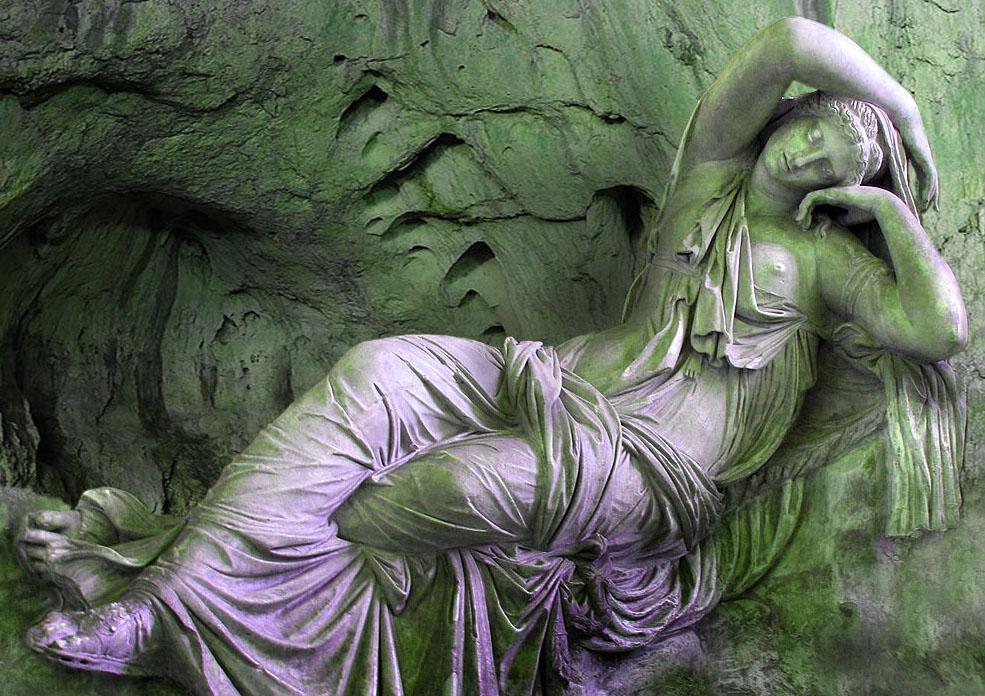 Sleeping Ariadne in the cave, Naxos, Dionysos wife, echtgenote van Dionysos, Griekse mythen, dochter van Minos, Kreta
