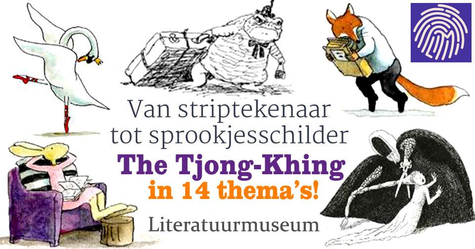 literatuurmuseum den Haag, The Tjong-Khing 85 jaar in 2018, sprookjesschilder, striptekenaar, dierentekenaar, kinderboeken