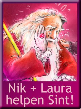Nik en Laura, leesserie AVI ME 4, sinterklaas verhaaltje groep 4 - 5 - 6- 7, online gratis sinterklaas verhaaltje
