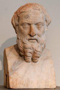 Herodotus, vader der geschiedschrijving, Historiae, Histories, oud-Griekse strip