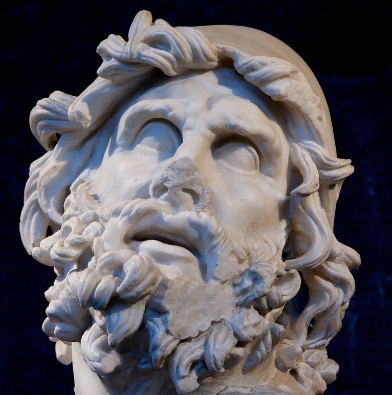 greek comics, ancient greek cartoons, graphic novel, Homerus, witch Kirke, heks Kirke, Circe, zwijnen, tovenares, Odysseia, Ulysses, Odyssee, de route van Odysseus, dwaaltocht, Roman statue