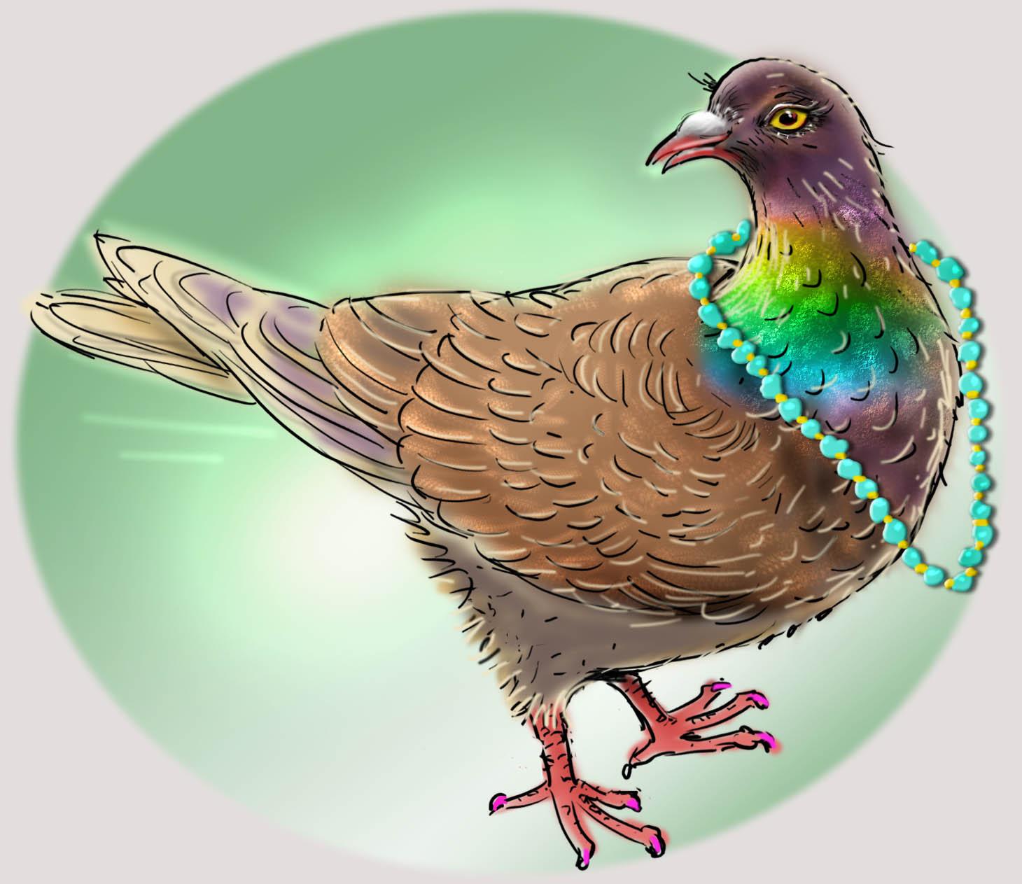 het krioelt in mokum, amsterdam dieren fabels, kinderverhaaltjes, jeannette moning, duiven