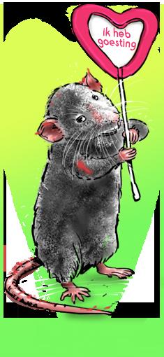 jeannette moning, amsterdamse dierenfabels, dragos de rat, verliefd, valentijn, valentijnsdag
