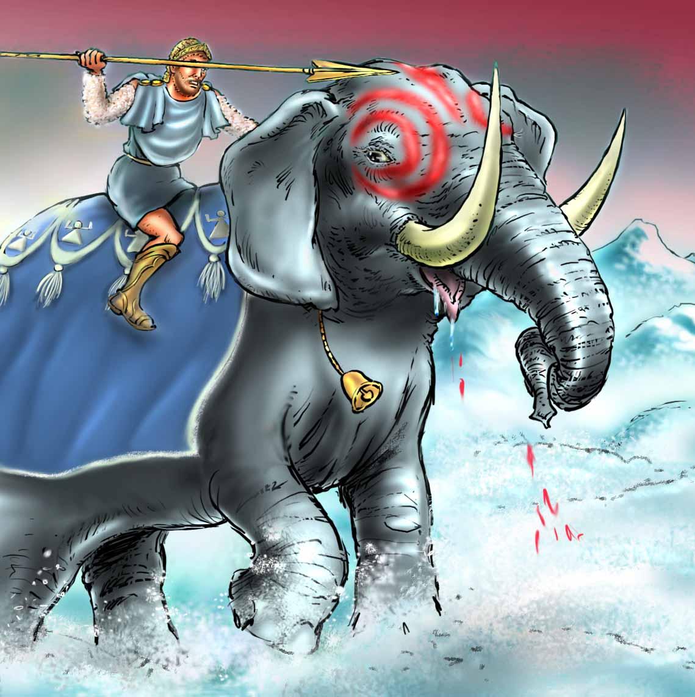 Hannibal, olifanten, Carthaags veldheer, tunesië, dido, elissa, Phoenicische kolonie, Carthago, young adult novelle