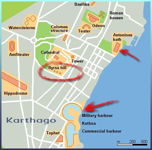 Dido, stichting Karthago, haven Carthago, Tunesië, Phoenicië, groepsreis Tunis, young adult novelle