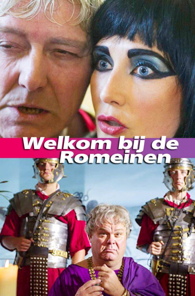 Welkom bij de Romeinen, NTR televisie, Pierre Bokma, Carice van Houten, Paul de Leeuw