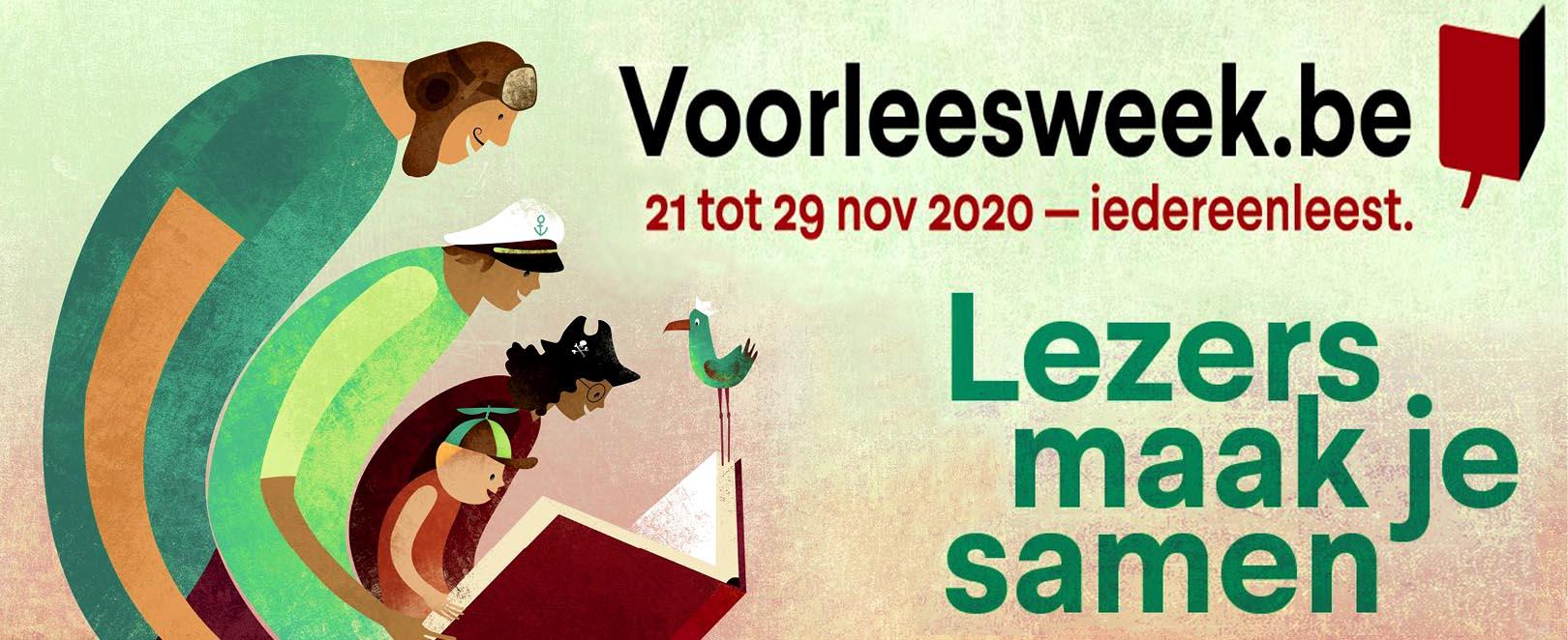 voorleesweek belgië 2020
